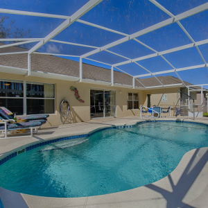 pool deck orlando vacation rental