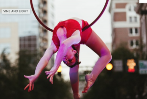 acrobat at IMMERSE