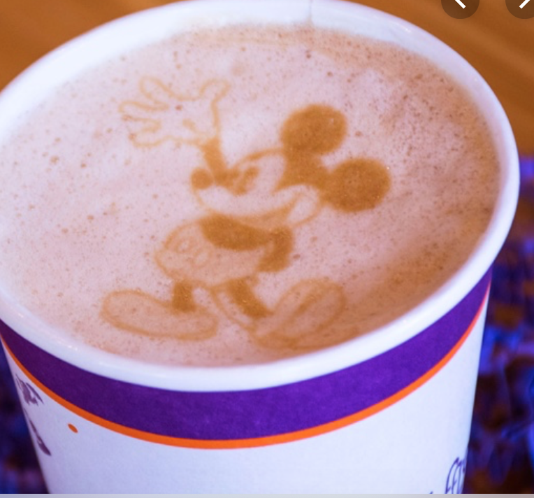 Mickey Mouse Cappuccino