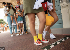 Social Distancing in Disney World