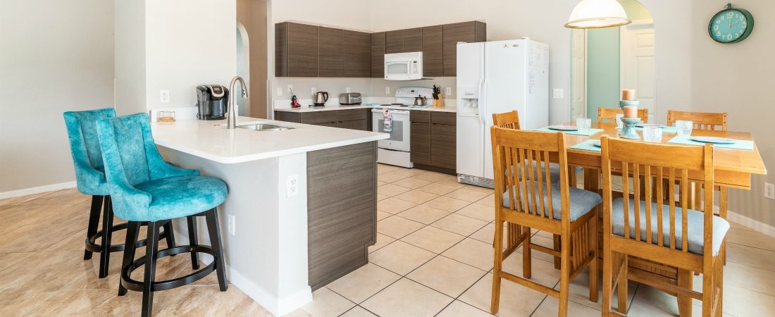 New Kitchen in Disavillatee, The WheelchairAccessible Orlando Villa