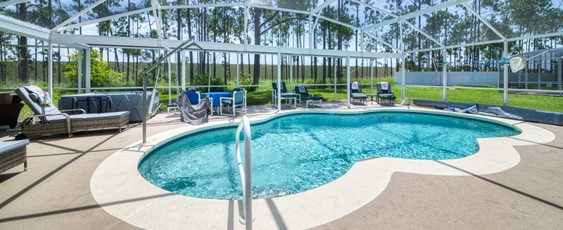 Pool with Pool Hoist at Disavillatee - The Wheelchair Accessible Orlando Villa